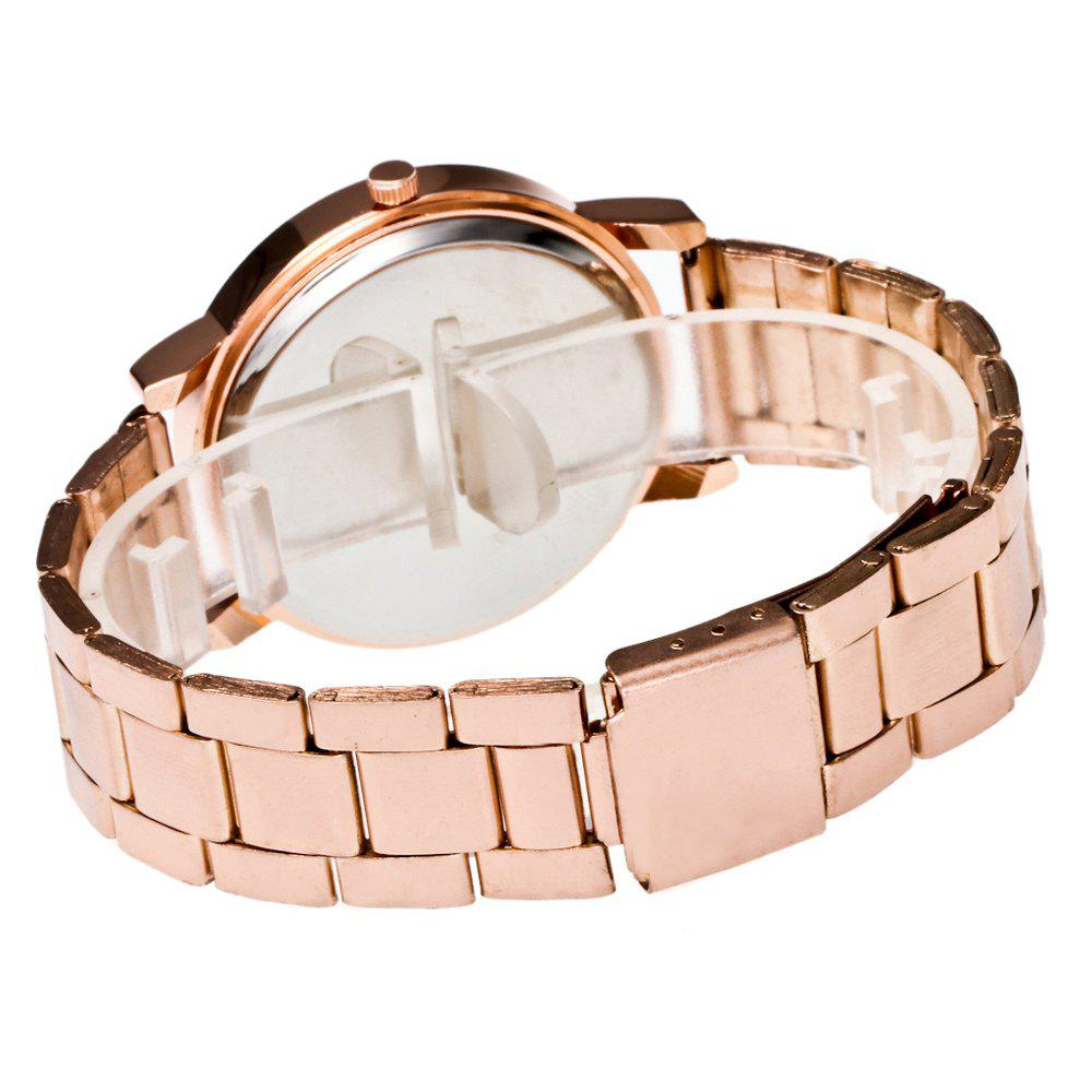 ZhouLianFa Business Top Brand Luxury Belt Diamond Fashion Quartz Watch - ROSE GOLD