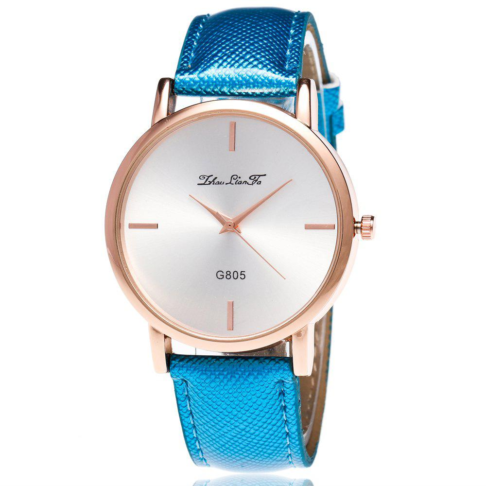 ZhouLianFa New Trend of Outdoor Crystal Grain Quartz Watch - BLUE