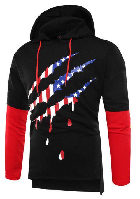 Mode Couture Hommes Hoodie - Noir XL