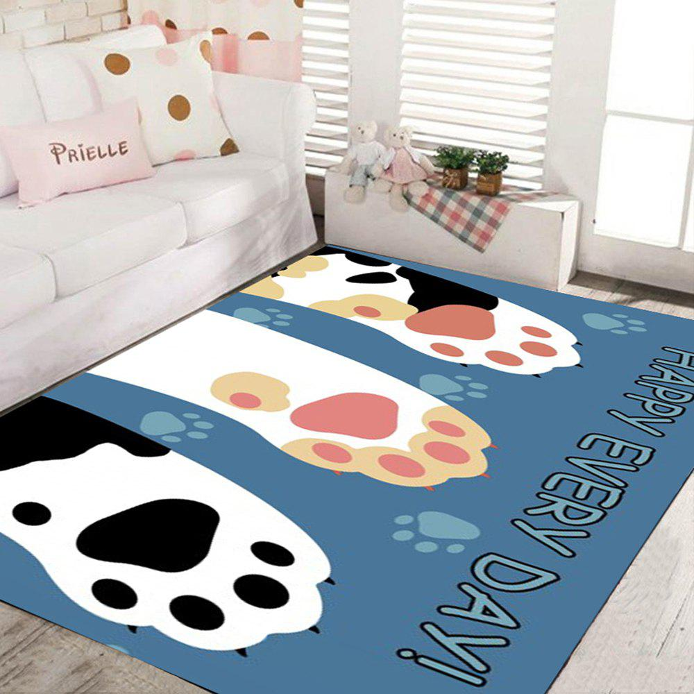 2018 tapis de plancher de cuisine de cartoon tapis de porte lavable antid rapant beau motif de. Black Bedroom Furniture Sets. Home Design Ideas