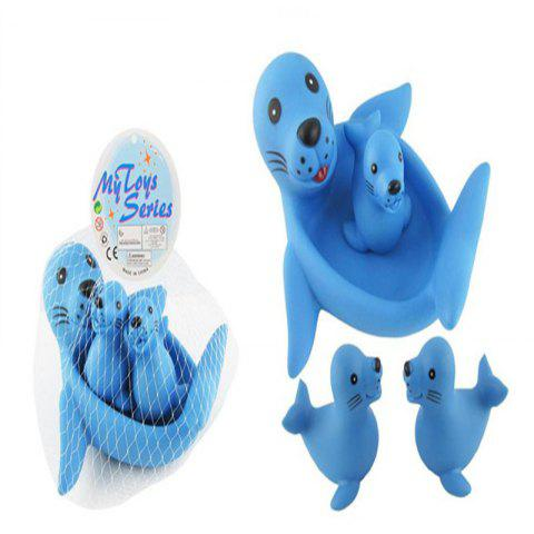 Bath Toy Sea Lions  BB Is Called The Honing Toy - WINDSOR BLUE