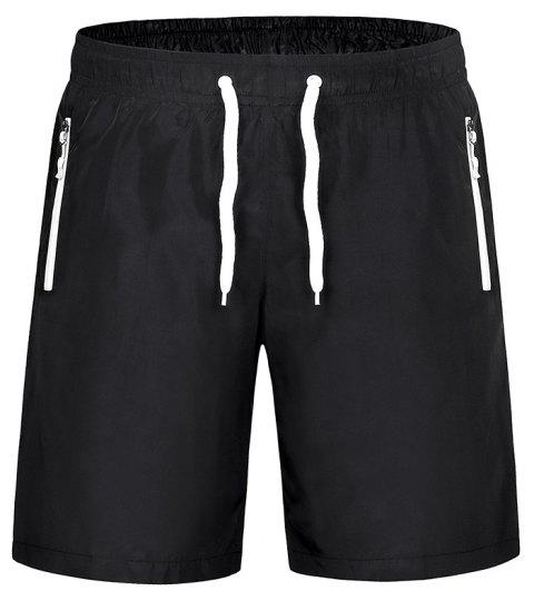 Men'S Stretch Large Size Speed Dry Clothes Sports and Leisure Shorts - WHITE XL