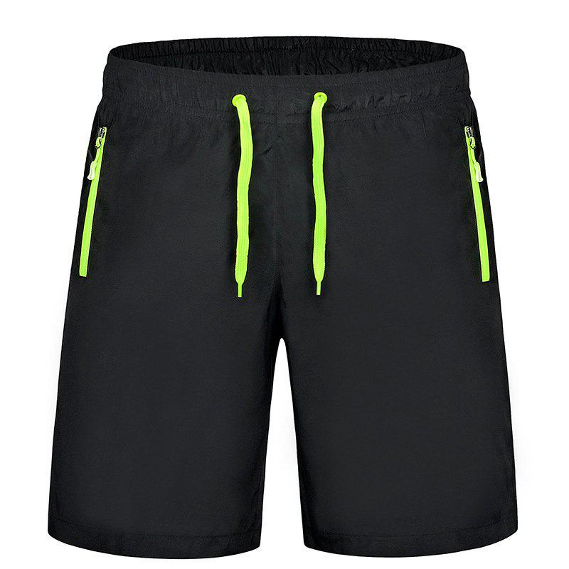 Men'S Stretch Large Size Speed Dry Clothes Sports and Leisure Shorts - GREEN XL