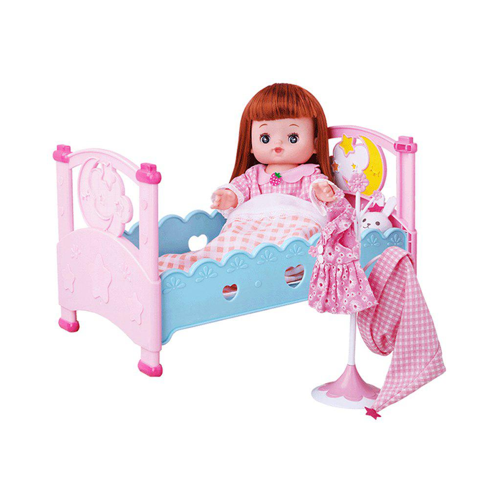 Sweet Moon Bed Baby Sleeping Toys - COLORFUL