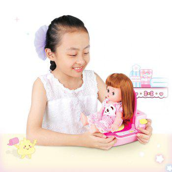 Girl Baby Doll Play House - COLORFUL