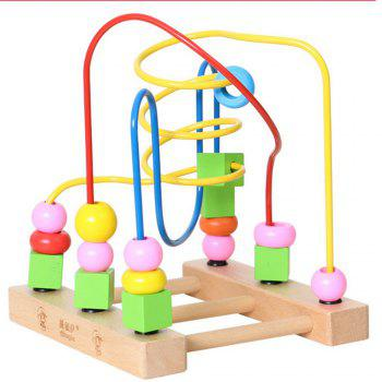 Wooden Children Beaded Toys for Early Childhood Toys to Learn the Color of educational Toys - COLORMIX COLORMIX