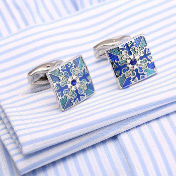 High Quality French Shirt Cufflinks Diamond Cuffs Snowflake Cuffs Male Dress Buttons