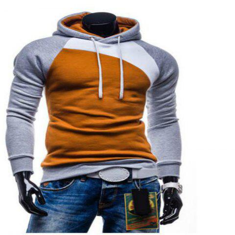 Spring and Autumn Hooded Head Men'S Leisure Sweater Coat - DAISY M