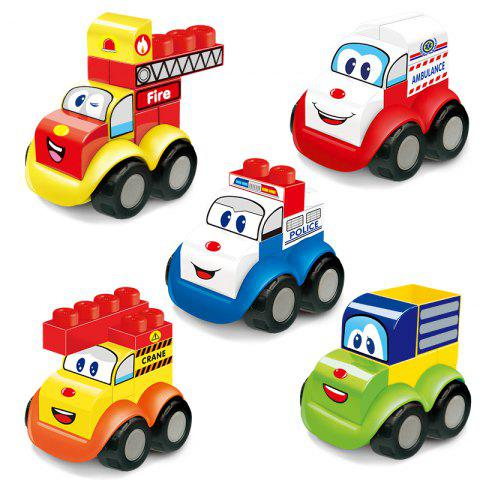 Early Childhood Education Gift Building Blocks Toy 5PCS - COLORMIX