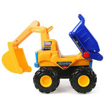 Early Childhood Education Inertia An Excavator Toy - COLORMIX