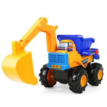 Early Childhood Education Inertia An Excavator Toy - COLORMIX COLORMIX