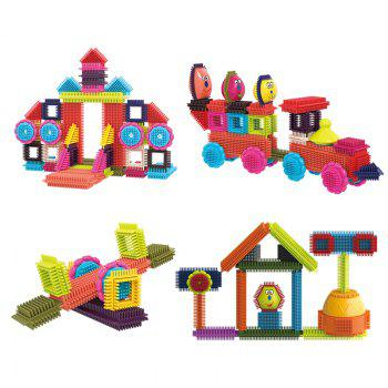 Children Early Childhood Education Mane Building Blocks Fifty Set - COLORMIX