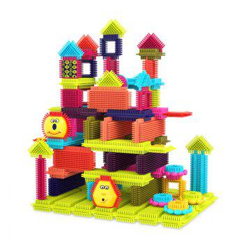 Children Early Childhood Education Mane Building Blocks One Hundred and Eight Set - COLORMIX COLORMIX