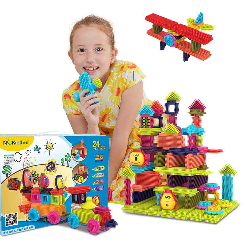 Children Early Childhood Education Mane Building Blocks Twenty-Six Set - COLORMIX