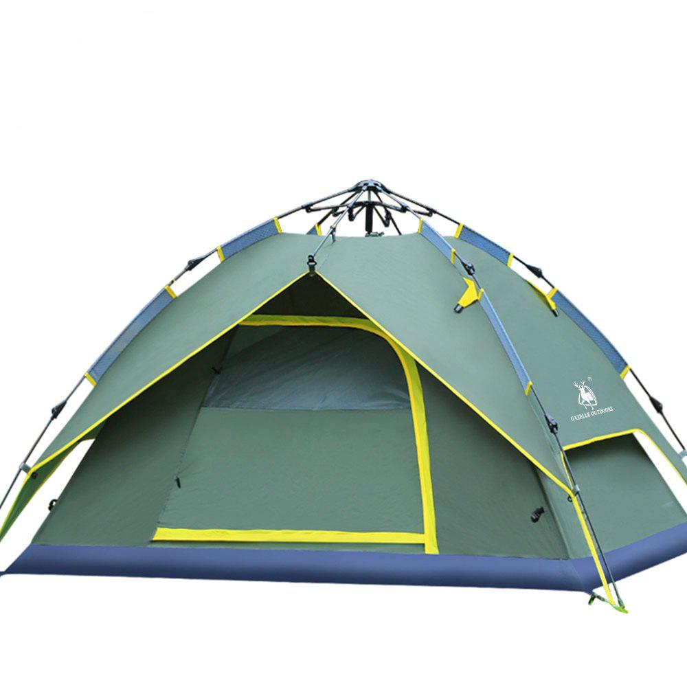 A Simple and Quick Outdoor Tent - GREEN