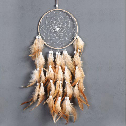 OC-01 Indian style dream catcher home accessories - BROWN