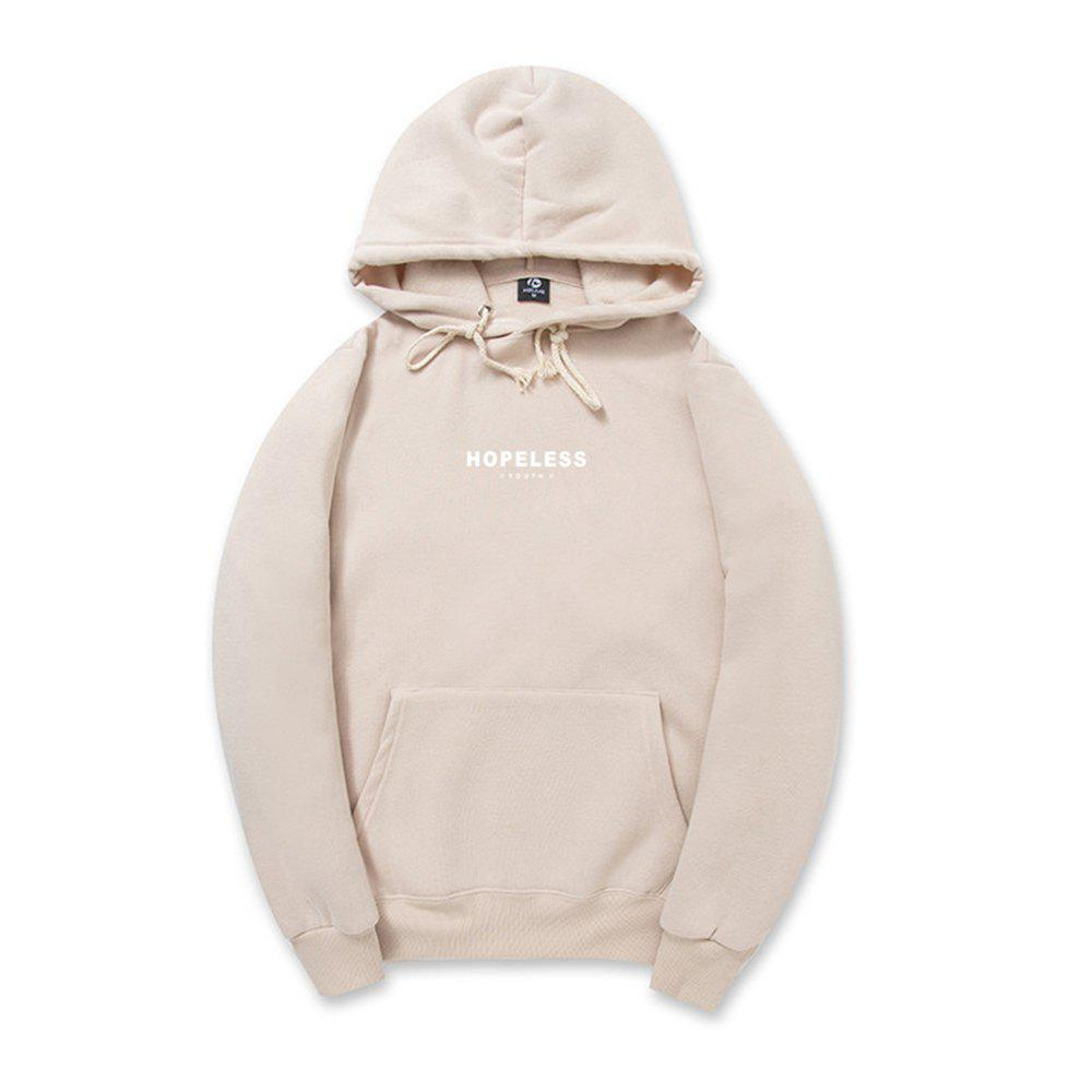 Pure Cotton Men'S Hooded Hoodie