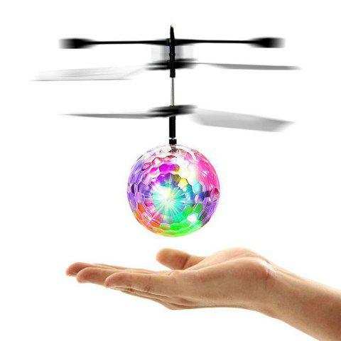 Hot sale RC Toy EpochAir RC Flying Ball Drone Helicopter Ball Built-in Shinning LED Lighting for Kids Teenagers Colorful - TRANSPARENT