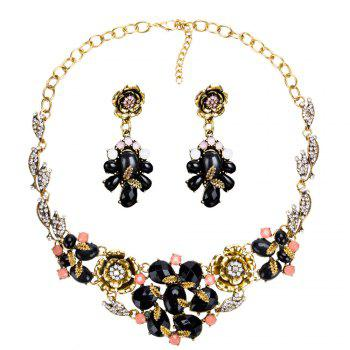 New Alloy Multi - Ply Necklace Suit - GOLD GOLD