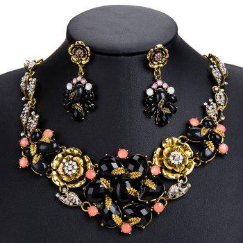 New Alloy Multi - Ply Necklace Suit - GOLD