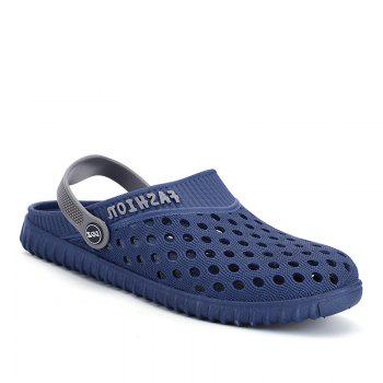 Men Hollow Out Breathable Beach Slippers