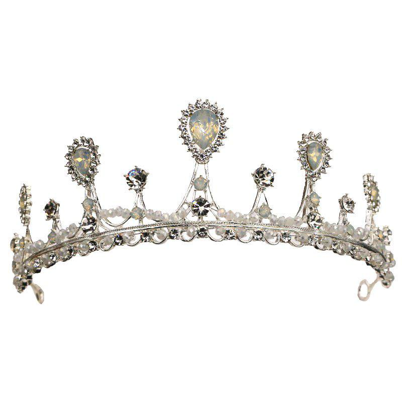 Fashion wedding dress accessories wedding princess crown - SILVER