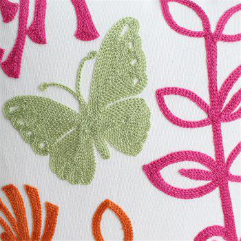 Weina Butterfly Dance Hold Pillow - RED RED