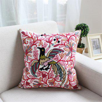 Weina Red Phoenix Hold Pillow - RED RED