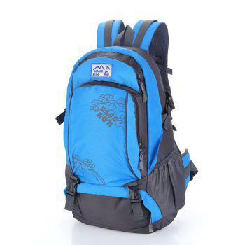 55L Men women Outdoor Waterproof Backpack -  BLUE