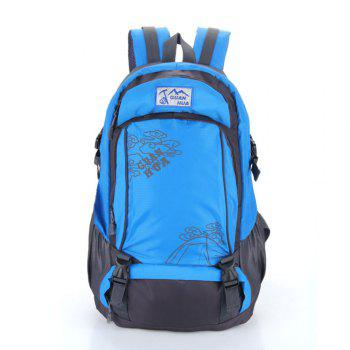 55L Men women Outdoor Waterproof Backpack - BLUE BLUE