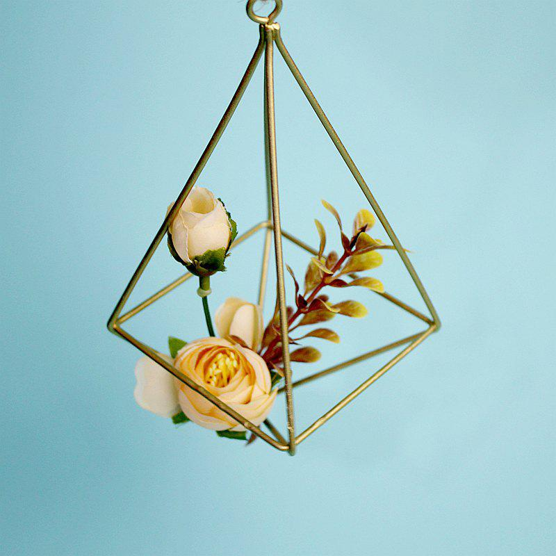 The Four Sides of The Metal Geometry Can Be Hung with The Air Pineapple Flower Holder and The Space Flower Pot 242683303