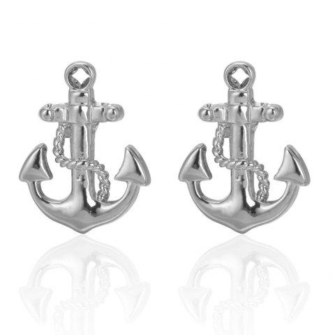 2019 Sea Series Rudder Anchor Pirate Ship Cuff Links Wedding Party