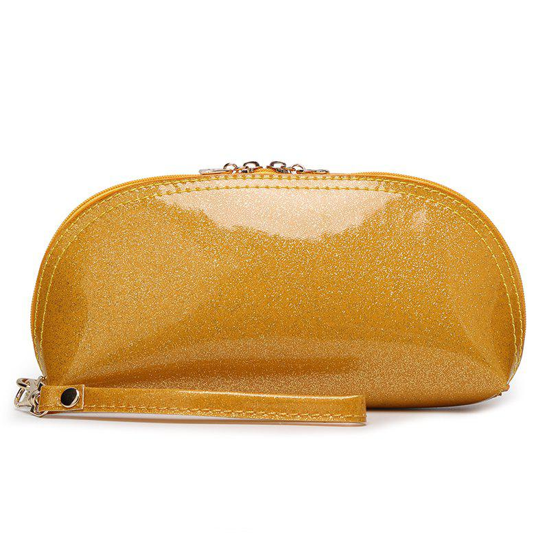 Ladies fashion wild ladies bright handbag - YELLOW