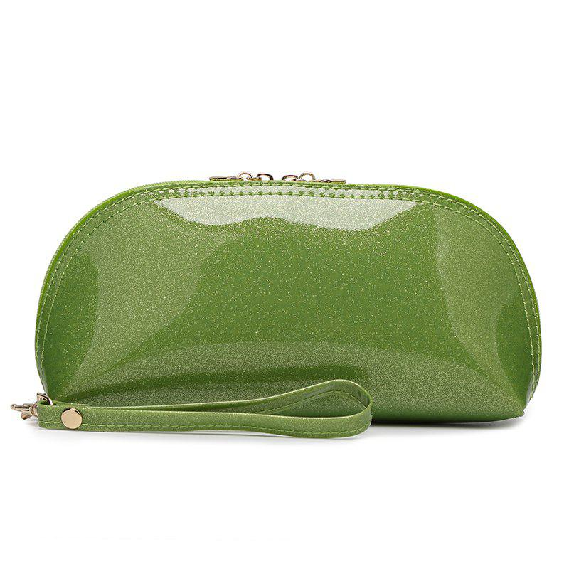 Ladies fashion wild ladies bright handbag - GRASS GREEN