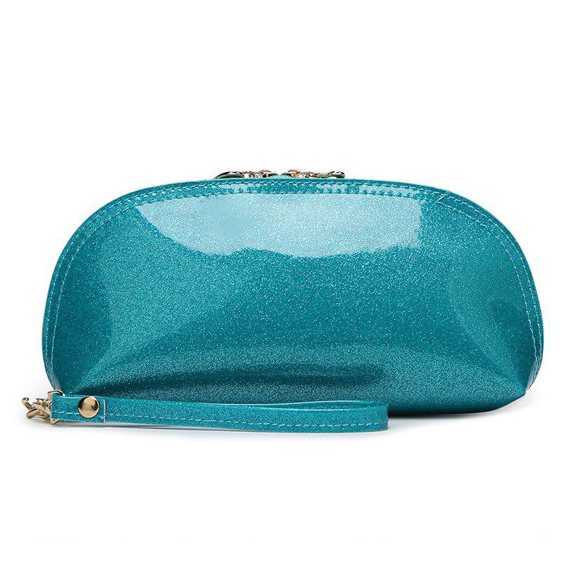 Ladies fashion wild ladies bright handbag - WINDSOR BLUE