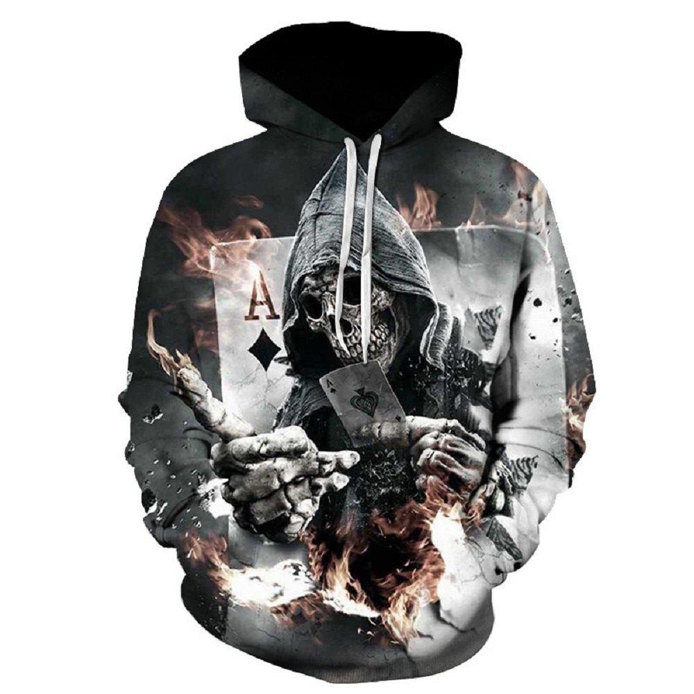 2017 Autumn New Digital Printing Hoodie - COLORFUL 2XL