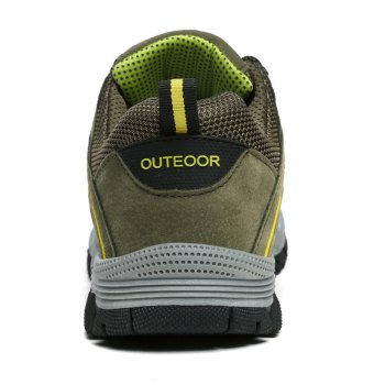 Men'S Lace Hiking Outdoor Hiking Shoes - ARMYGREEN 40