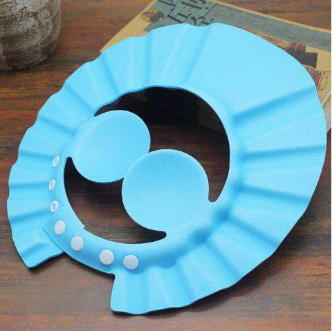 Baby infant shampoo cap childrens ear wash shampoo sun cap MY0775 - BLUE