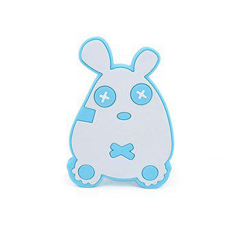 Cute mouse silicone bath brush MY0138-blue - BLUE BLUE