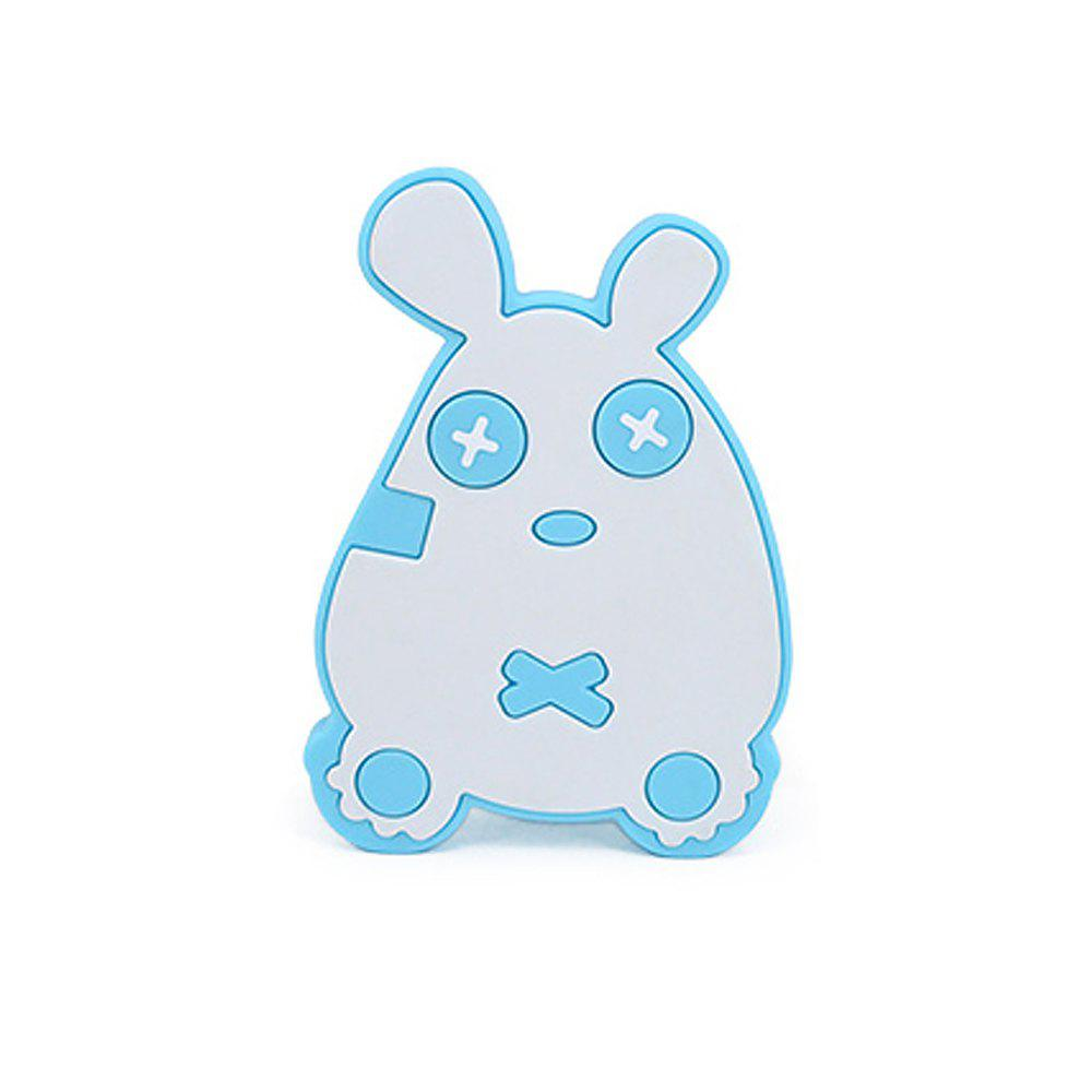 Cute mouse silicone bath brush MY0138-blue - BLUE