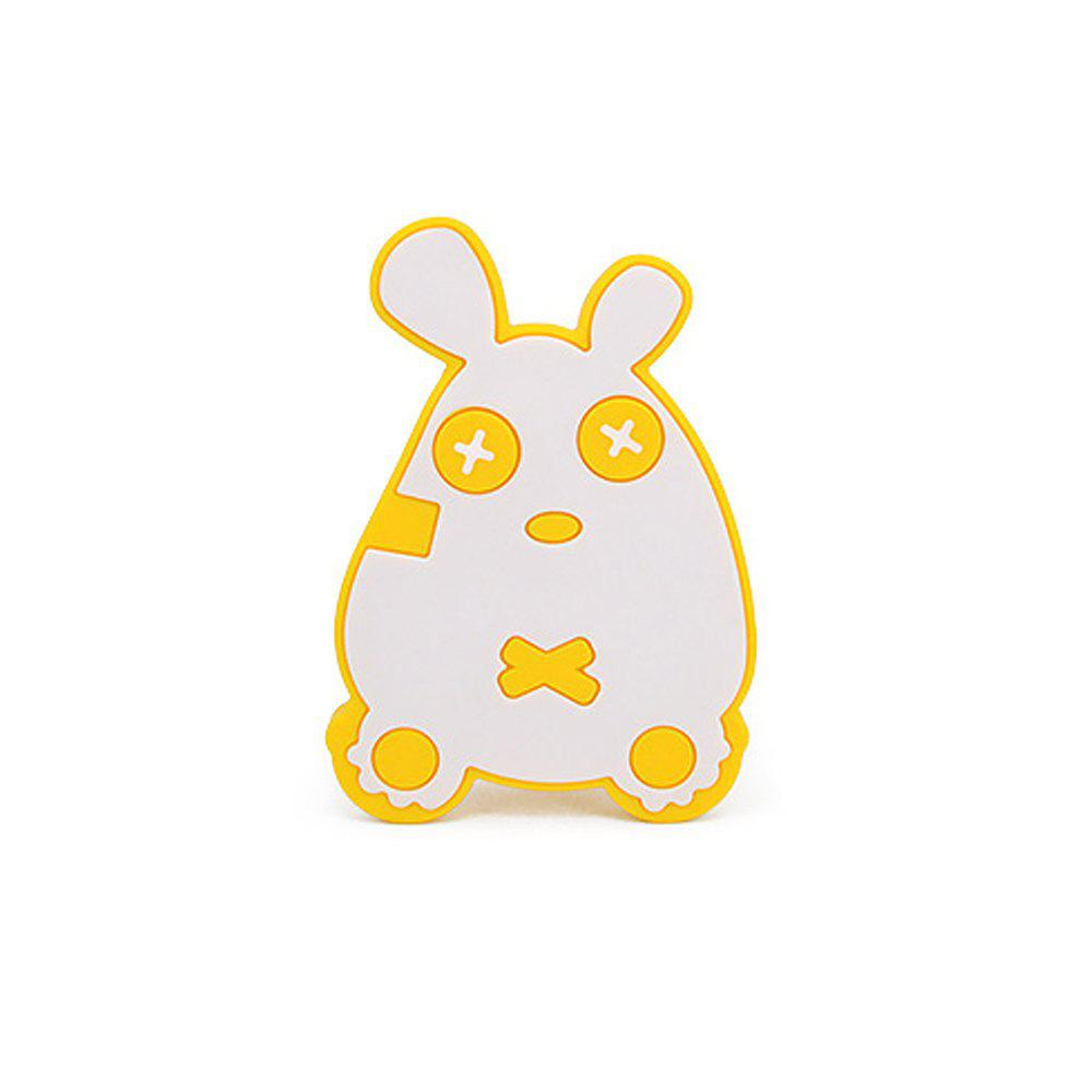 Cute mouse silicone bath brush MY0138-blue - YELLOW