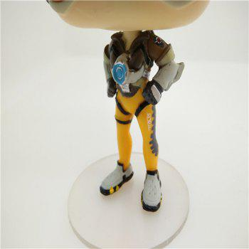 Game Action Figures Toy Cartoon for Tracer - ORANGE