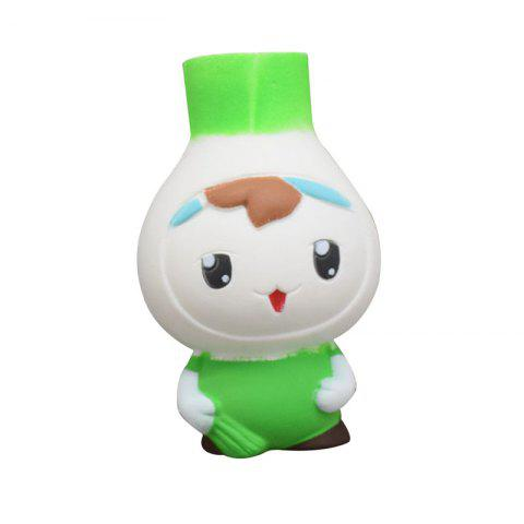 Cartoon Onions Baby Squishy Phone Straps Accessories Slow Rising Sweet scented Charms Kid Toys Decoration - GREEN