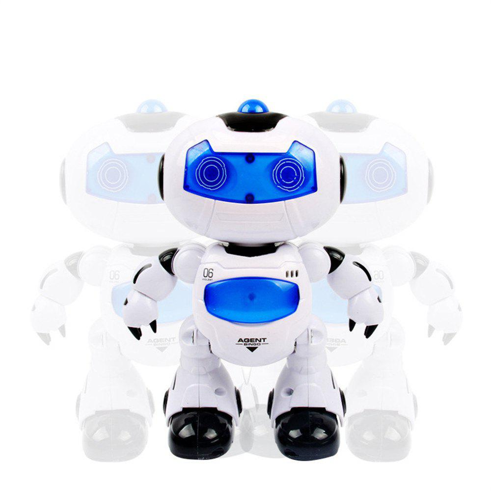 Electronic RC Robot Learning Toys Toddler Intelligent Action Dancing Remote Control with Music Lights for Kid kids toys space robot bump and go action music lights and tons fun early learning walking robot music light gift 12m baby toys