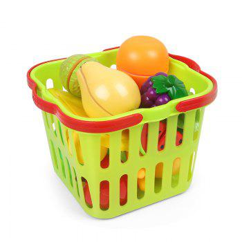 House Small Basket Fruits Toy - COLORMIX