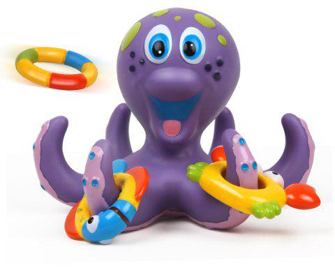NuKied Take A Shower Swimming Adorable Baby Octopus Toy - COLORMIX