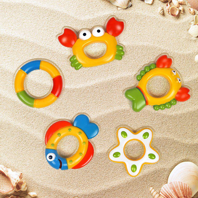 Take A Shower Swimming Adorable Baby Octopus Toy - COLORMIX