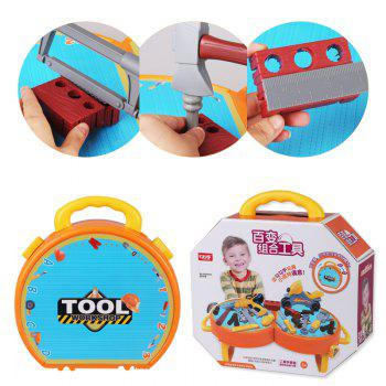 House Children Simulation Tool Suitcase Toy -  COLORMIX