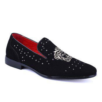 Pidele M535 Eyelet Rivet Small Leather Shoe
