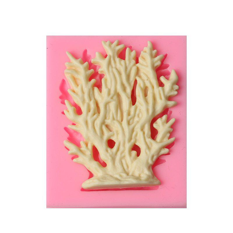 Cake tool coral grass sea silicone mold cake mould Fondant tools sugarcraft Decorating Mold Cupcake 242502901